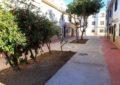 El alcalde inspecciona las obras de mejoras que se realizan en la plaza Mondejar y zonas aledañas