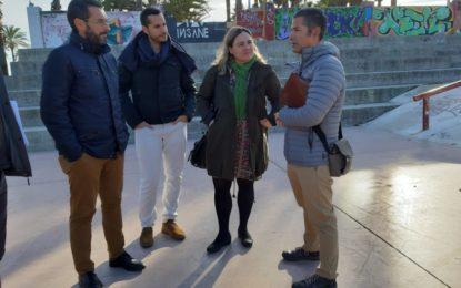 El alcalde ha inspeccionado las obras de remodelación del parque Princesa Sofía