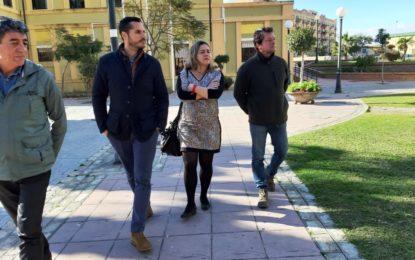 El Ayuntamiento inicia los trabajos para un proyecto de rehabilitación integral de los jardines Saccone