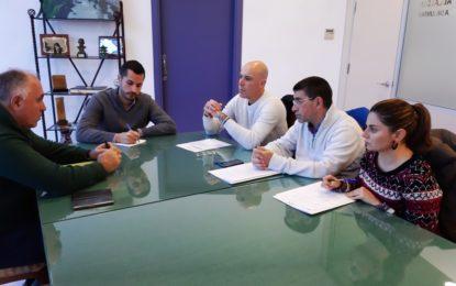Fegadi plantea al Ayuntamiento mejoras de accesibilidad y estacionamiento en diferentes zonas