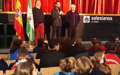 El alcalde ha participado en los actos organizados con motivo de la festividad de San Juan Bosco