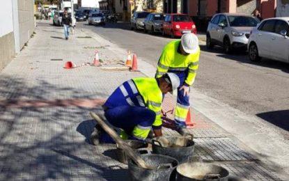 Mantenimiento Urbano ejecuta trabajos de eliminación de barreras en el entorno del nuevo hospital