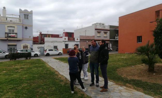Mario Fernández inicia en Punto Ribot una ronda de visitas a las promociones de Emusvil