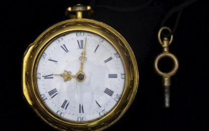 El Museo Nacional de Gibraltar puja con éxito por un reloj de oro de Henry Cowper, el orfebre más reputado de la historia del Peñón