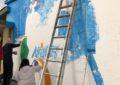 El pintor malagueño, Antonio Hidalgo, homenajea a Antonio Machado