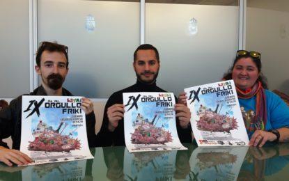 Presentado el IX Día del Orgullo Friki, que se celebrará el 25 de mayo en la Casa de la Juventud