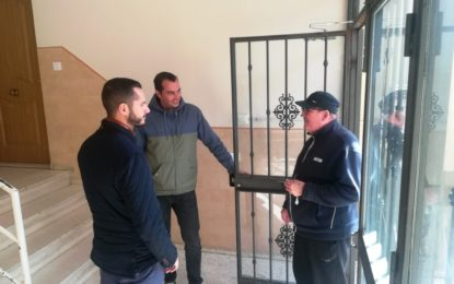 Mario Fernández supervisa la promoción de viviendas de Cañada  Real