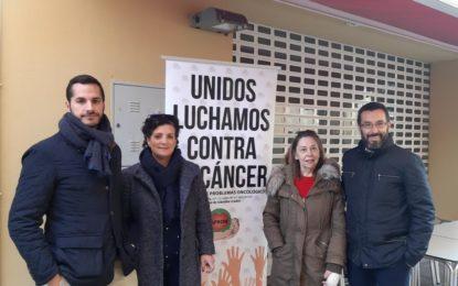 El alcalde colabora con Apron en el Día Mundial contra el Cáncer