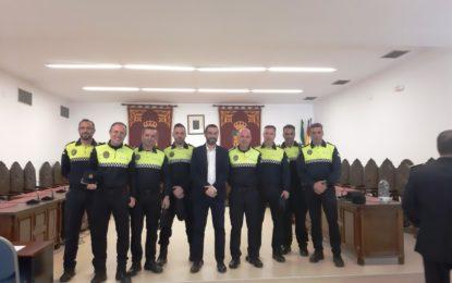 El alcalde ha participado en la clausura del Curso de Oficiales de la Policía Local