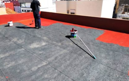 Educación ultima los trabajos de acondicionamiento de techos en el colegio Buenos Aires