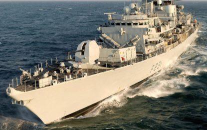 La fragata HMS Argyll atracará el sábado en Gibraltar para recibir apoyo logístico tras realizar maniobras con buques de otros países de la Commonwealth frente a la península de Malasia