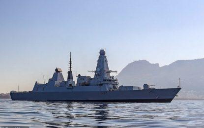 Gibraltar recibirá al buque de guerra británico HMS Duncan camino de maniobras con la armada francesa
