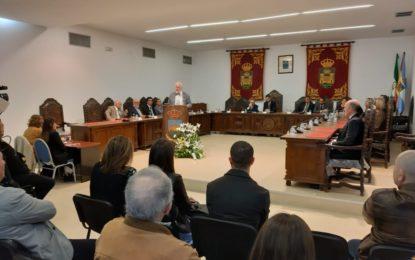 Helenio Lucas Fernández Parrado ofreció el discurso en el Pleno por el Día de Andalucía