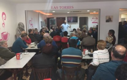 'Un Café con Juan Franco' llega esta semana a las barriadas de San Felipe y San Bernardo