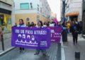 Numerosa asistencia a la manifestación del Día de la Mujer Trabajadora en La Línea