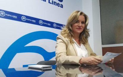 María Muiño: «Si el PP gobierna en Madrid, con la unión de la Junta de Andalucía, sería importante para La Línea»