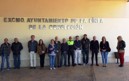 El Ayuntamiento de La Línea se ha unido al minuto de silencio en recuerdo de los atentados terroristas del 11M