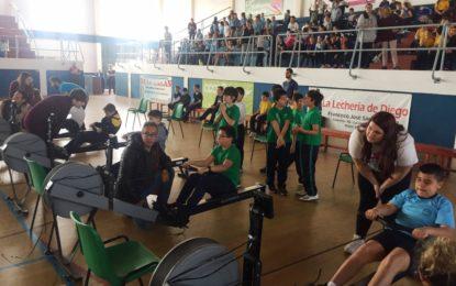 Celebrada la II Concentración de Remo en el Pabellón Polideportivo Municipal