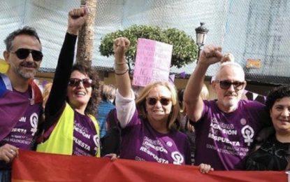 Podemos La Línea e Izquierda Unida La Línea instan a la participación activa en la Huelga Feminista
