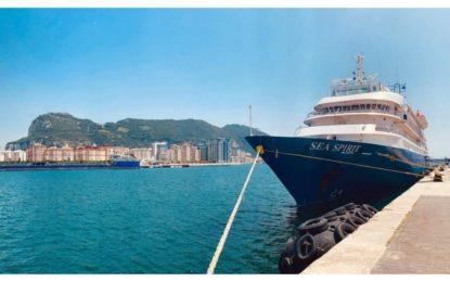 El buque de cruceros polares MV Sea Spirit realiza su primera escala en Gibraltar