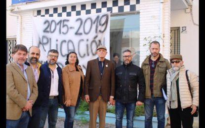 Visita a La Línea de la Concepción del cabeza de lista al Congreso por VOX