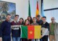El alcalde recibe al alumnado del instituto Machado que participa este fin de semana en Madrid en una recreación de Naciones Unidas  para la Red de Escuelas Unesco