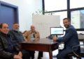 La nueva directiva de la Unión Deportiva se presenta al alcalde