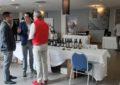 El alcalde visita el I Showroom de Vinos 360 organizado por una empresa linense