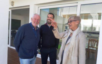 El alcalde conoce las instalaciones del Centro de Menores de La Concepción