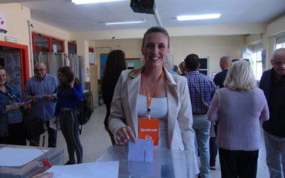 Aida Linares (Ciudadanos): «Sería estupendo tener de presidente de España a Albert Rivera» (con sonido)