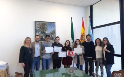 El alcalde ha recibido a los alumnos del IES Virgen de la Esperanza participantes en el programa UNESMUN