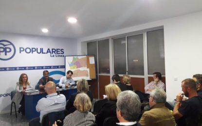 Arriaga logra con la lista del PP para las municipales la renovación del partido para estos próximos años