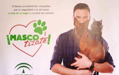 """Sanidad se adhiere a la campaña de la Junta """"Mascotizate"""" para sensibilizar a la población sobre la tenencia de animales de compañía"""