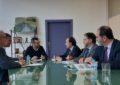 El presidente de la Autoridad Portuaria realiza su primera visita formal al alcalde de La Línea