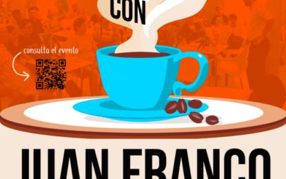 La Velada acogerá este viernes una nueva sesión de 'Un Café con Juan Franco'