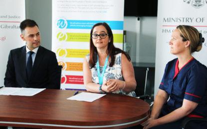 La GHA anuncia en Gibraltar un nuevo servicio de enfermera de enlace para los servicios de salud mental