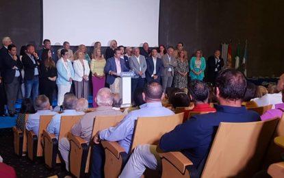 Juan Pablo Arriaga presentó «para ganar» la lista del Partido Popular para las elecciones municipales