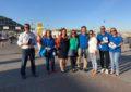 El PP de La Línea hace reparto en la frontera con Gibraltar