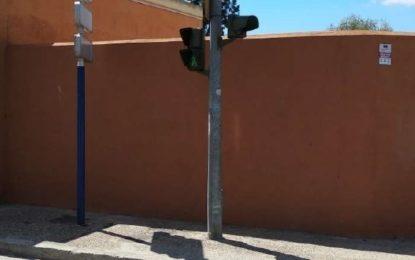 El Ayuntamiento refuerza la instalación semafórica en la avenida María Guerrero