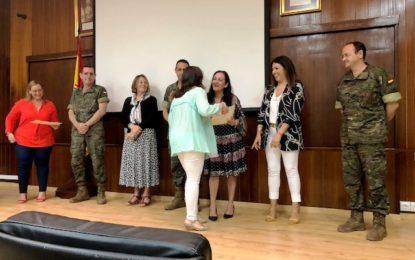"Encarni Sánchez ha asistido a la clausura del Taller de Empleo ""San Roque"""