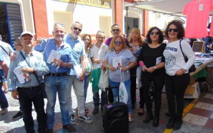 Adelante La Línea llevó su programa electoral por las principales arterias del centro