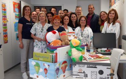 La empresa  Paysafe Group realiza una donación al área de pediatría del hospital comarcal de La Línea con la intermediación del ayuntamiento