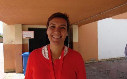 Gemma Araujo, número 4 en la lista del PSOE por Cádiz, que lidera Grande Marlaska