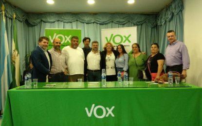 VOX La Línea hizo su presentación de candidatura en la Unión Deportiva