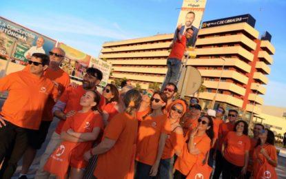 La Línea 100×100 hará de su cierre de campaña una gran fiesta con música y sorpresas en la Plaza Fariñas