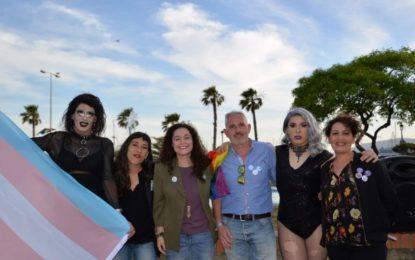 Adelante La Línea hizo en el Paseo de Camarón el encuentro sobre feminismo y LGTBI