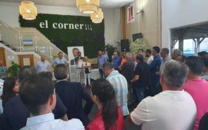 Arriaga y el PP mantuvieron un encuentro con empresarios, autónomos y emprendedores en el Polígono El Zabal