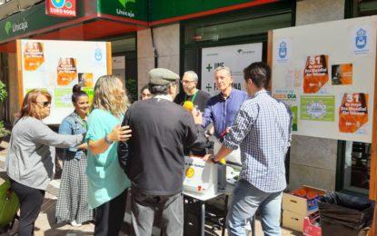 Sanidad cambia cigarrillos por fruta en el Día Mundial sin tabaco