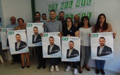 El GIL hizo la pegada de carteles en su sede de la calle San Pablo