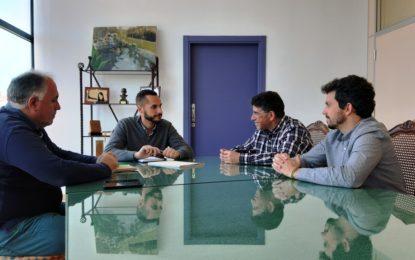 Fegadi agradece al Ayuntamiento la cesión al centro de material de protección que fue donado por un empresario chino